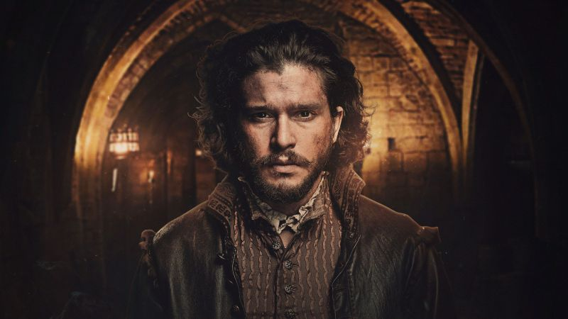 Gunpowder Season 1, Kit Harington, TV Series, 4k (horizontal)