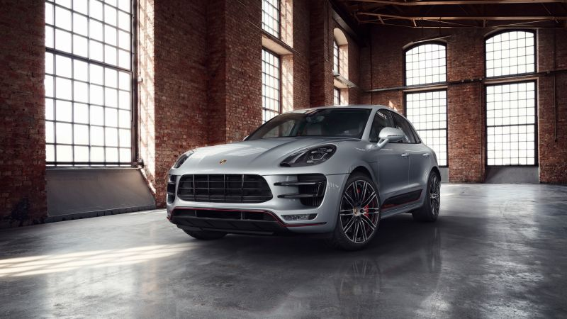 Porsche Macan Turbo, cars 2017, 4k (horizontal)