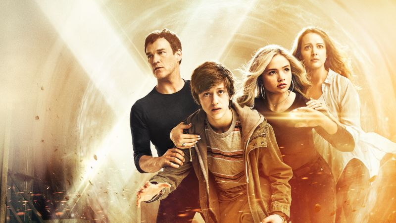 The Gifted Season 1, Natalie Alyn Lind, Stephen Moyer, Percy Hynes White, Amy Acker, TV Series, 4k (horizontal)