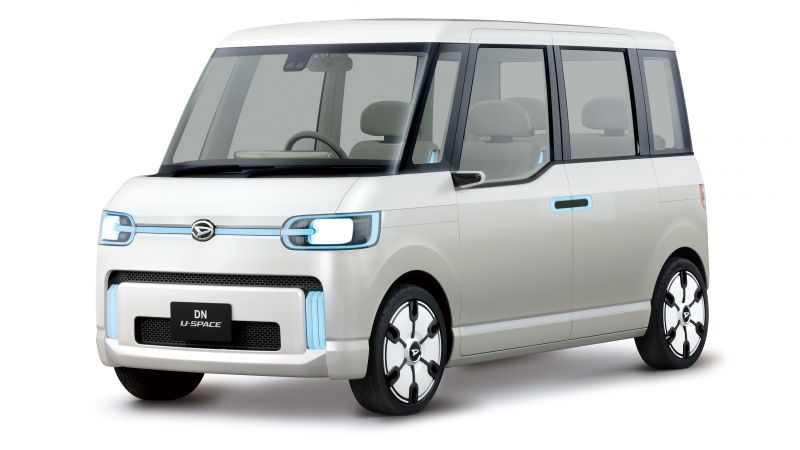 Daihatsu DN U-Space, electric car, 4k (horizontal)
