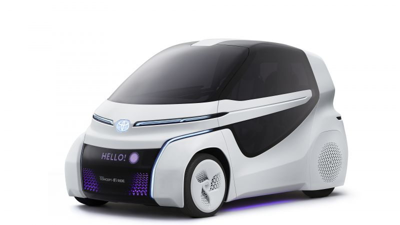 Toyota Concept-i Ride, electric cars, 4k (horizontal)