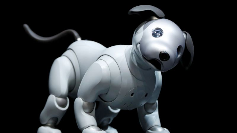 Sony Aibo, robot, dog, HD (horizontal)