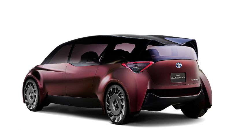 Toyota Fine Comfort Ride, electric car, 4k (horizontal)