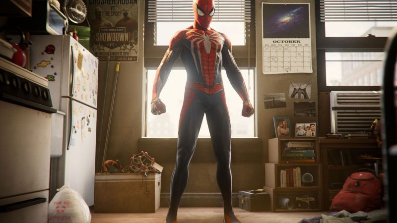 Marvel's Spider-Man, screenshot, Paris Game Week, 4k (horizontal)