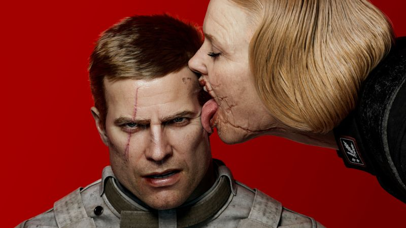 Wolfenstein 2: The New Colossus, poster, E3 2017, 4k (horizontal)