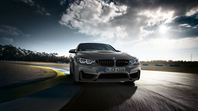 BMW M3 CS, Cars 2018, 4k (horizontal)