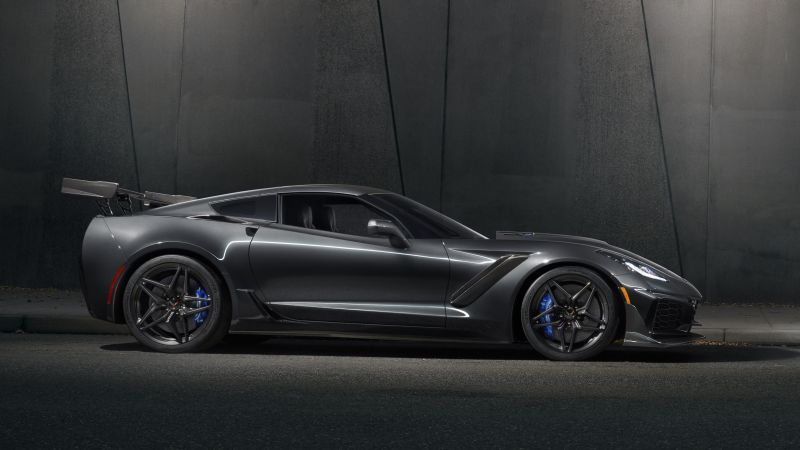 Chevrolet Corvette ZR1, 2018 Cars, 4k (horizontal)