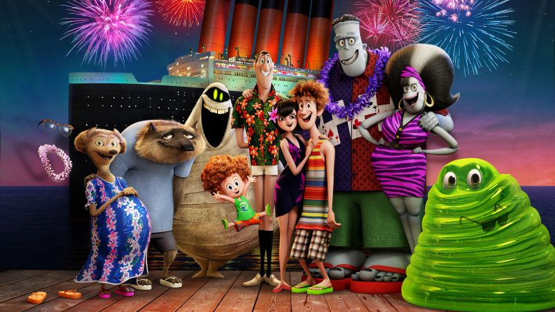 Hotel Transylvania 3: Summer Vacation, 8k (horizontal)