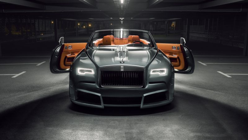 Rolls-Royce Dawn Overdose, 2018 Cars, 4k (horizontal)