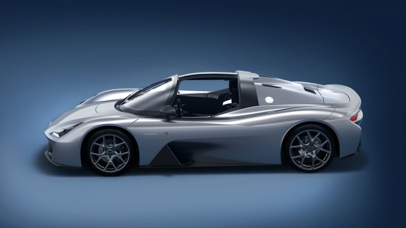 Dallara Stradale, sport car, 8k (horizontal)