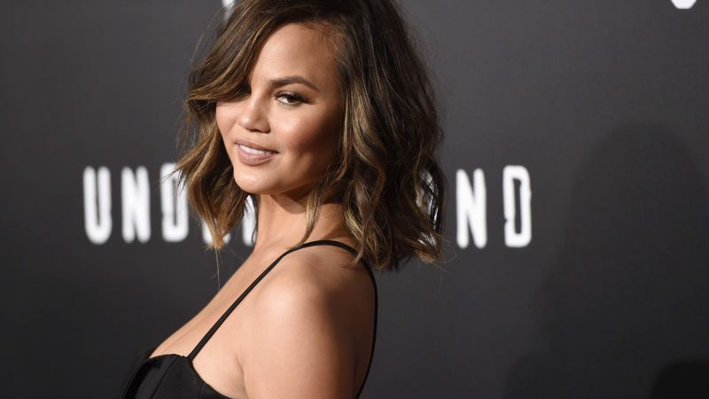 Chrissy Teigen, beauty, brunette, 4k (horizontal)