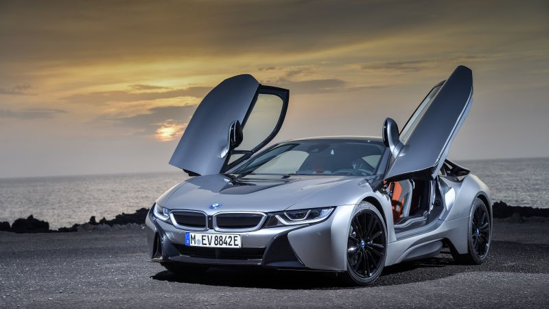 BMW i8 Roadster, 2018 Cars, 5k (horizontal)