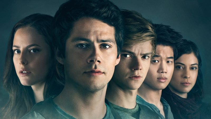 Maze Runner: The Death Cure, Dylan O'Brien, Thomas Brodie-Sangster, Kaya Scodelario, HD (horizontal)