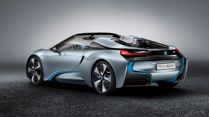 BMW i8 Roadster, 2018 Cars, 4k (horizontal)