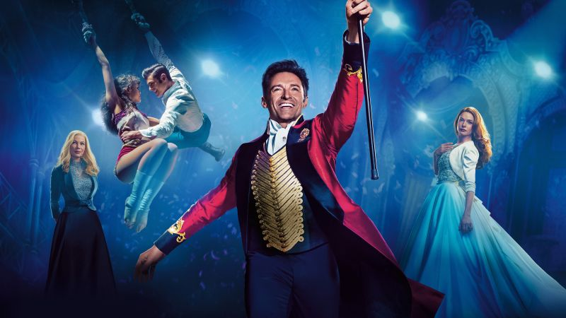 The Greatest Showman, Hugh Jackman, Rebecca Ferguson, Michelle Williams, 5k (horizontal)