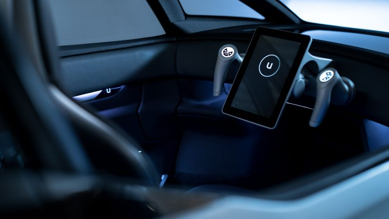 Uniti One, electric car, interior, 4k (horizontal)