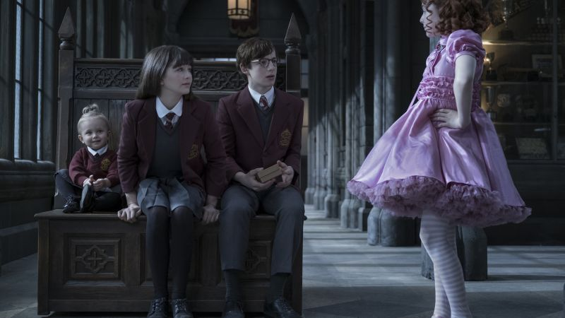 A Series of Unfortunate Events Season 1, Malina Weissman, Louis Hynes, TV Series, 5k (horizontal)