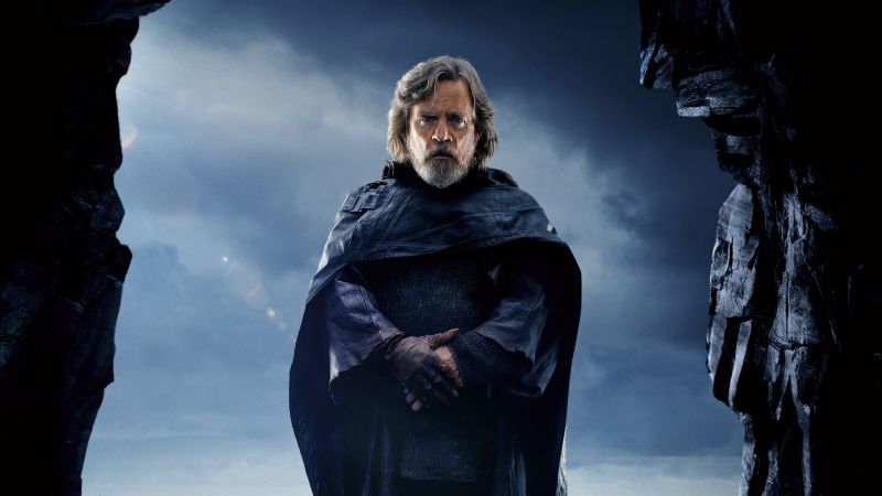 Star Wars: The Last Jedi, Mark Hamill, 5k (horizontal)