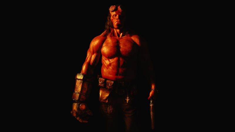 Hellboy, David Harbour, 4k (horizontal)