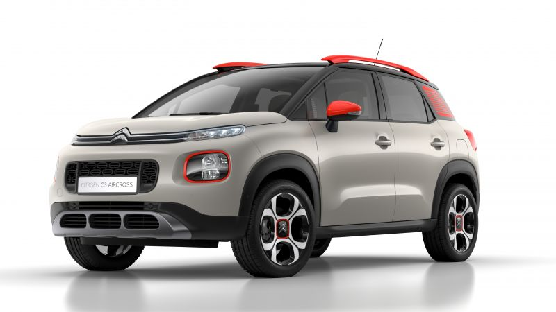 Citroen C3 Aircross, 2018 Cars, 5k (horizontal)