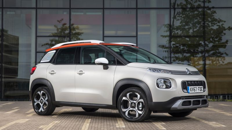 Citroen C3 Aircross, 2018 Cars, 4k (horizontal)