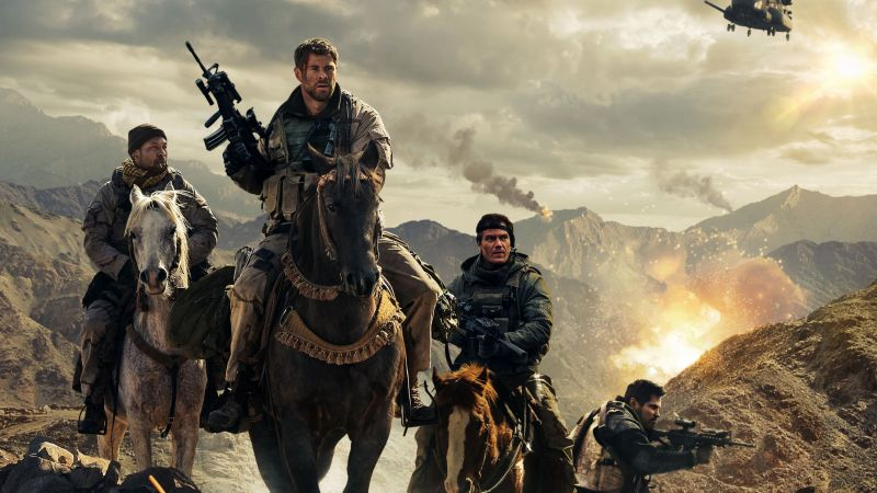12 Strong, Chris Hemsworth, 4k (horizontal)