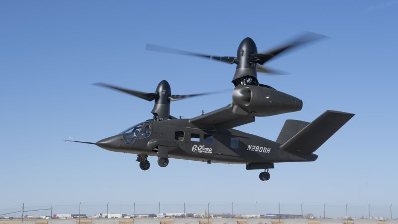 Bell V-280 Valor, 4k (horizontal)