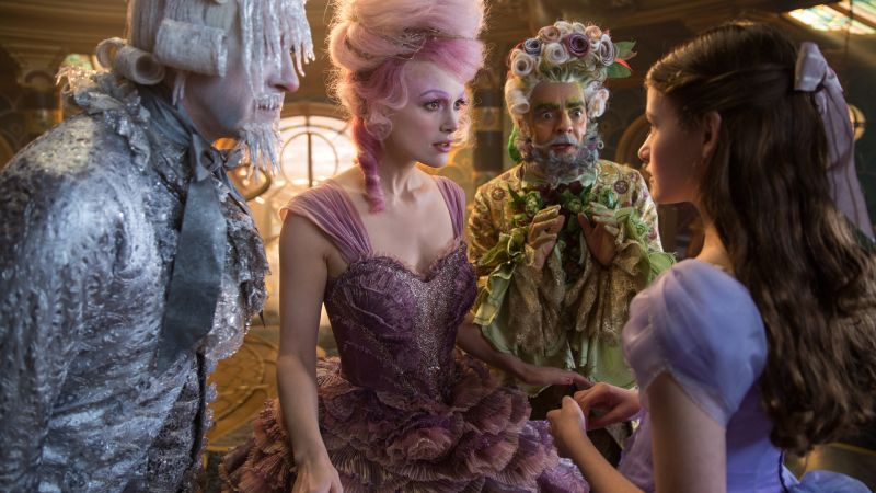 The Nutcracker And The Four Realms, Richard E. Grant, Eugenio Derbez, Keira Knightley, Mackenzie Foy, 5k (horizontal)