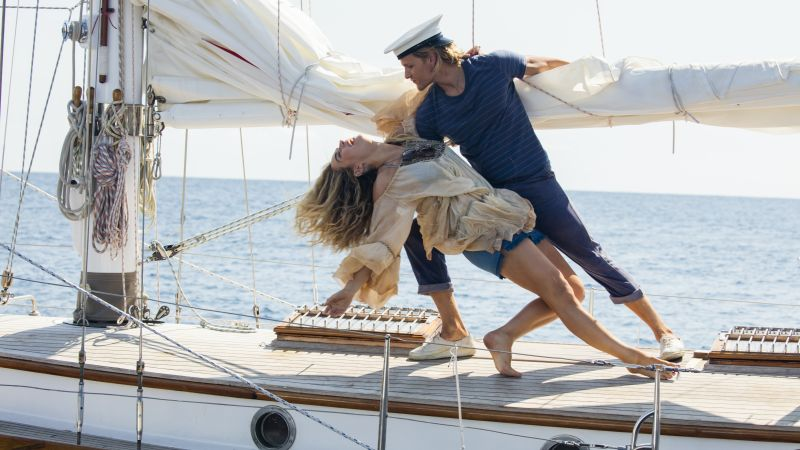 Mamma Mia! Here We Go Again, Lily James, Jeremy Irvine, 8k (horizontal)