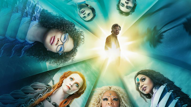 A Wrinkle in Time, Reese Witherspoon, Oprah Winfrey, Mindy Kaling, Chris Pine, Storm Reid, 5k (horizontal)