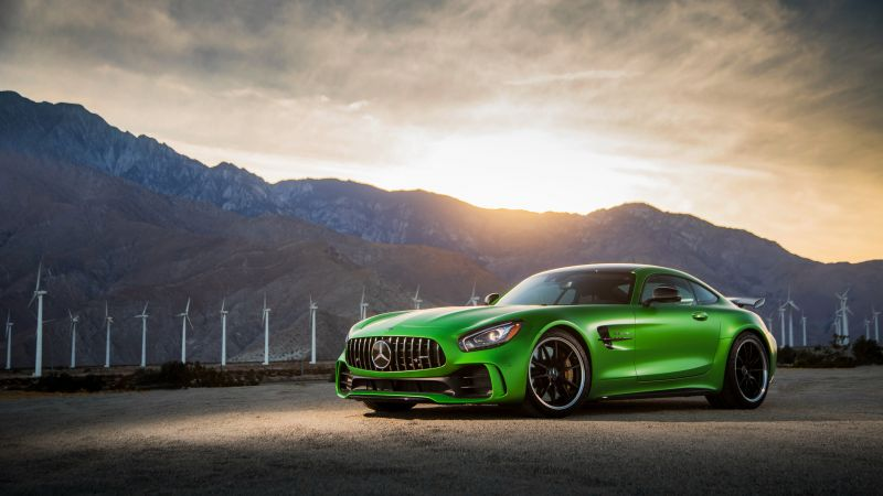 Mercedes Amg Gtr, 2018 Cars, 4k (horizontal)