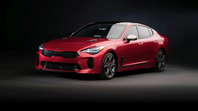 Kia Stinger, 2018 Cars, 4k (horizontal)