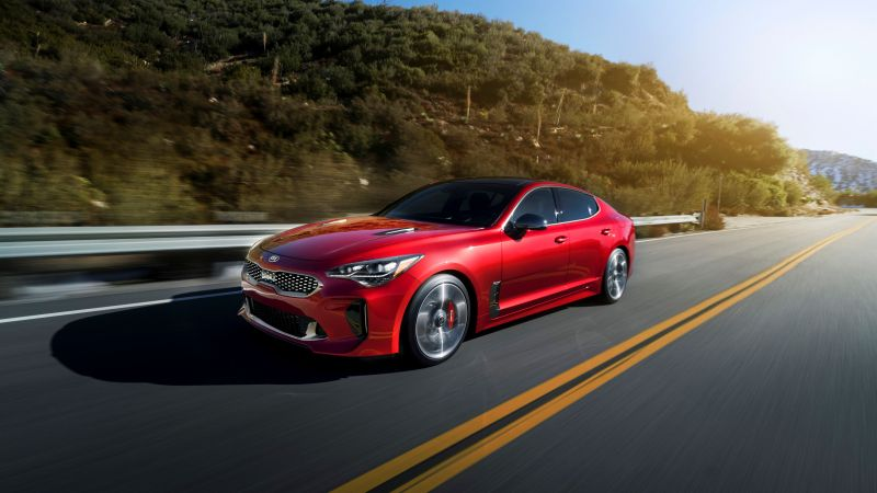 Kia Stinger, 2018 Cars, 5k (horizontal)
