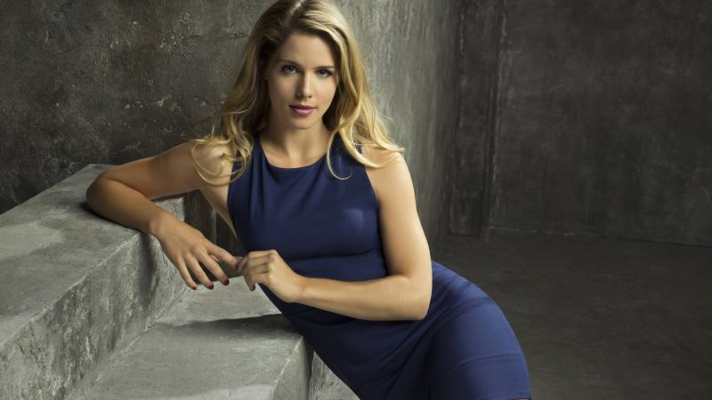 Emily Bett Rickards, photo, blonde, 4k (horizontal)