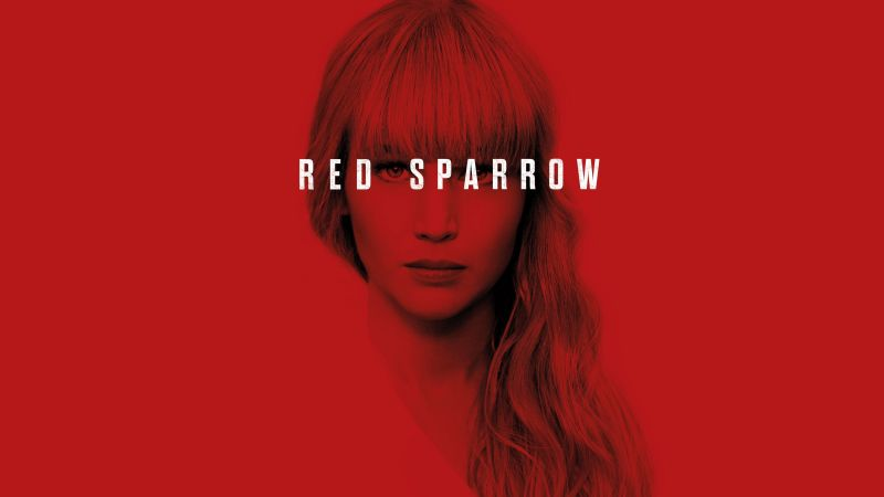 Red Sparrow, Jennifer Lawrence, poster, 4k (horizontal)
