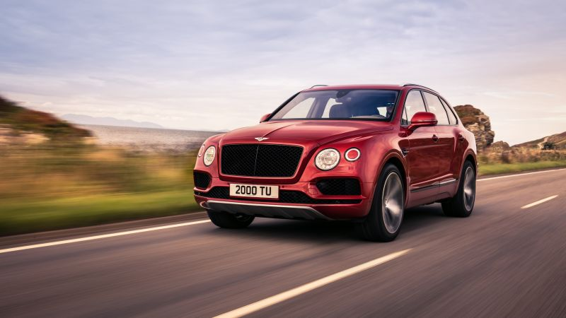Bentley Bentayga V8, 2018 Cars, 4k (horizontal)