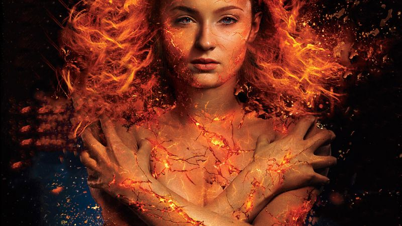 X-Men: Dark Phoenix, Sophie Turner, 5k (horizontal)