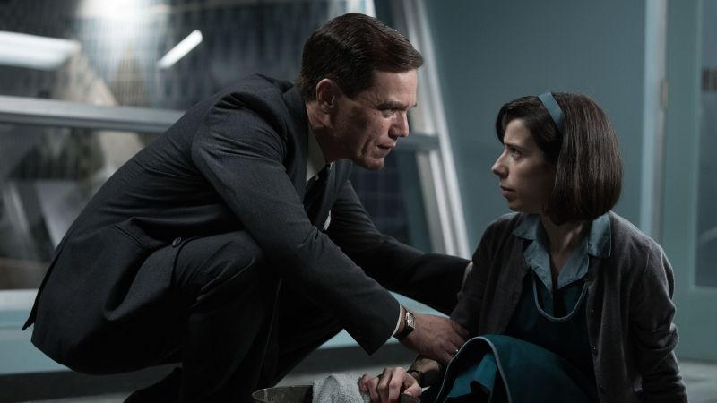 The Shape of Water, Sally Hawkins, Michael Shannon, 5k (horizontal)