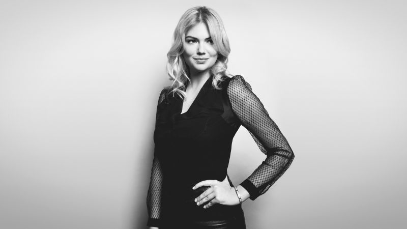 Kate Upton, photo, blonde, 8k (horizontal)