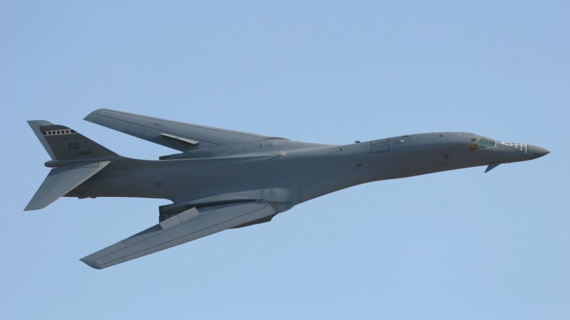 B-1, Lancer, supersonic, strategic bomber, Rockwell, U.S. Air Force, Boeing (horizontal)