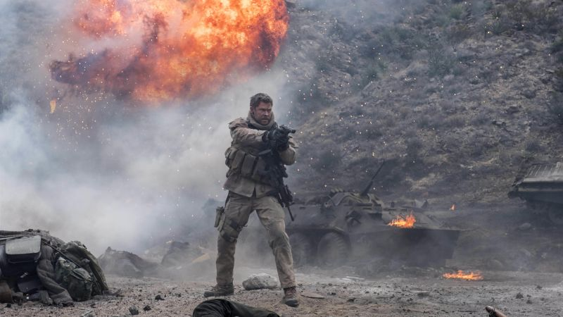 12 Strong, Chris Hemsworth, 5k (horizontal)