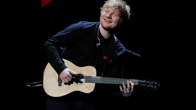 Ed Sheeran, photo, Grammy 2018, 4k (horizontal)