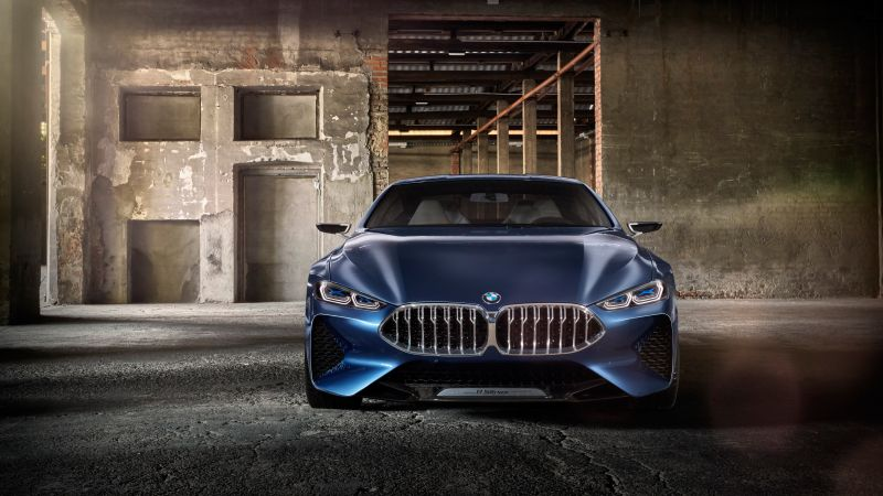 BMW 8 Series, Cars 2018, 4k (horizontal)