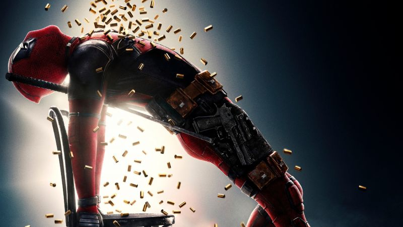 Deadpool 2, 4k (horizontal)