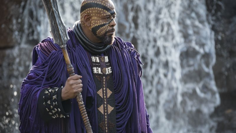Black Panther, Forest Whitaker, 5k (horizontal)