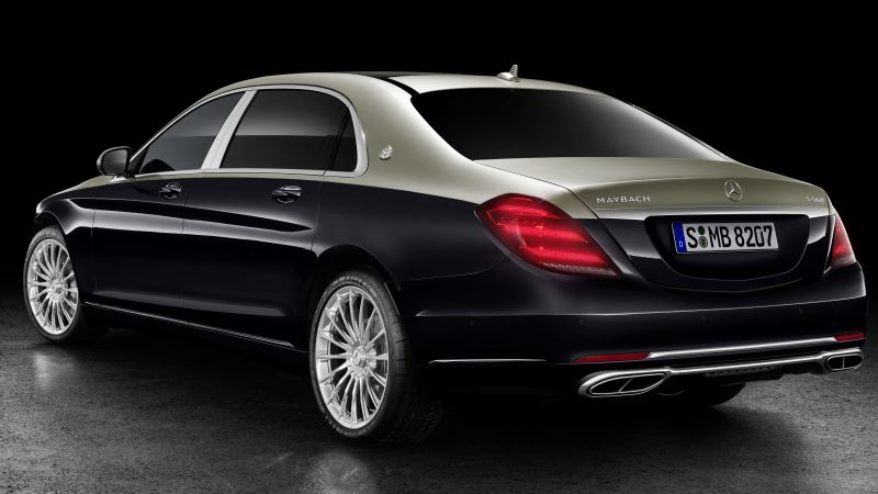 Mercedes-Maybach S-Class, 2018 Cars, 5k (horizontal)