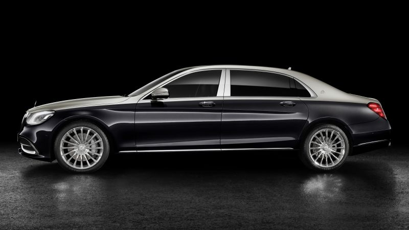 Mercedes-Maybach S-Class, 2018 Cars, 8k (horizontal)