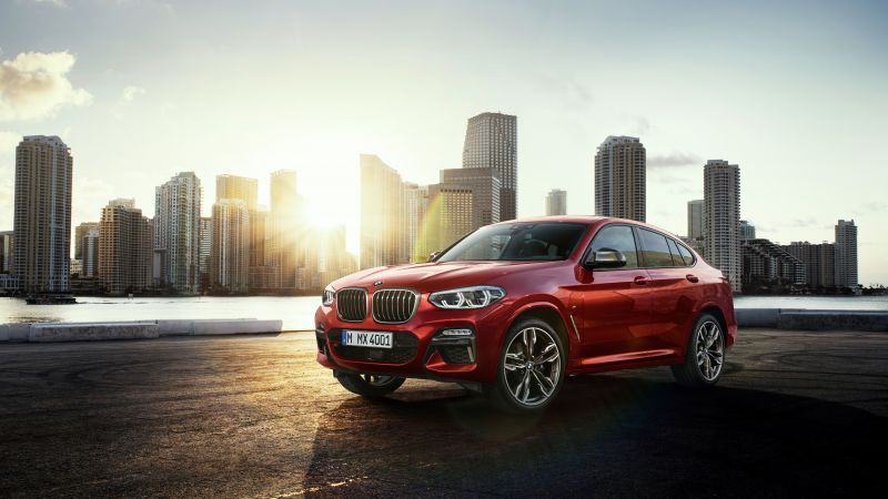 BMW X4, 2018 Cars, 4k (horizontal)