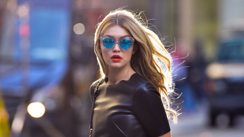 Gigi Hadid, beauty, blonde, 4k (horizontal) ...