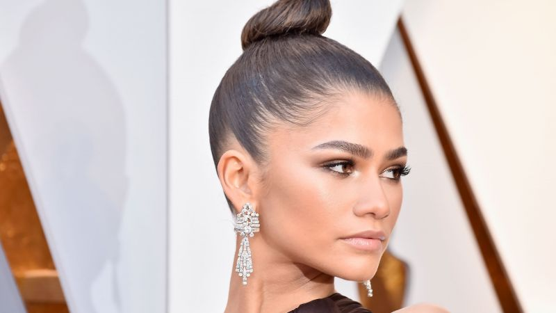 Zendaya, Oscar 2018, photo, brunette, 4k (horizontal)